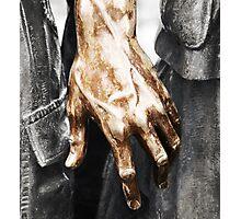 Vietnam Statue Hand Photographic Print