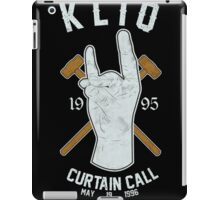 KLIQ - Curtain Call iPad Case/Skin