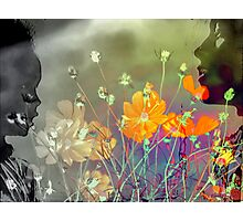 The colours of Love - Mother and child Photographic Print