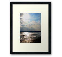 Filey Bay Framed Print