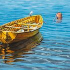 The yellow dinghy by Freda Surgenor