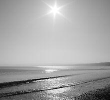 Black and white sunrise by Andrew Dunwoody