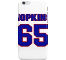 National football player Tam Hopkins jersey 65 iPhone Case/Skin