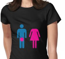 BJ wc Womens Fitted T-Shirt