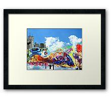 Bedford avenue,Williamsburg, Brooklyn,NY Framed Print