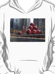 A Christmas Card from New York City – Radio City Music Hall and the Giant Red Balls T-Shirt