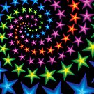 vivid star spirals by VioDeSign