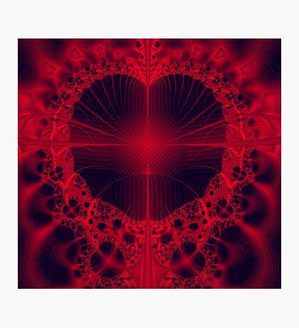 Cross My Heart Photographic Print