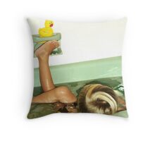 Rubber Ducky Throw Pillow