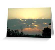 Do you believe in God Greeting Card