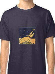 DOG MOON ART  Classic T-Shirt
