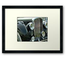 Black Betty Framed Print