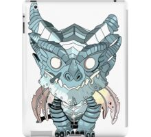 Blue Deathwing iPad Case/Skin