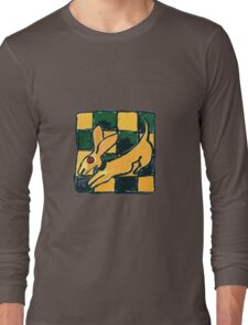 YELLOW DOG JUMP FLY Long Sleeve T-Shirt