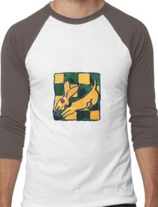 YELLOW DOG JUMP FLY Men's Baseball ¾ T-Shirt