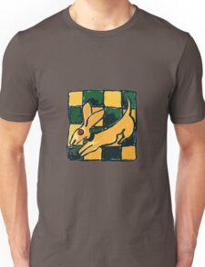 YELLOW DOG JUMP FLY Unisex T-Shirt