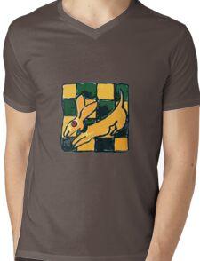YELLOW DOG JUMP FLY Mens V-Neck T-Shirt