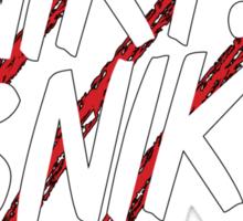 "FanboysInc's IncWear ""SNIKT SNIKT"" Tee Sticker"