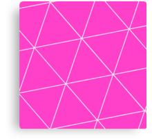 Ion Triangle Canvas Print