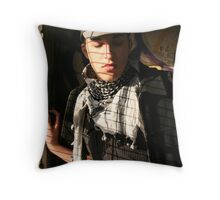 dawn before the revolution part II Throw Pillow