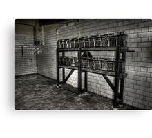 Battery Room Canvas Print