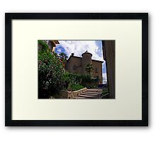 The Chateau at Seix Framed Print