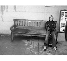 Waiting in the rain Photographic Print