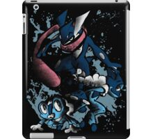 Naruto is a ninja? tsk have you ever met Greninja? iPad Case/Skin