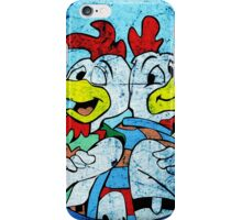 Los Pollos Hermanos Wink retro style iPhone Case/Skin