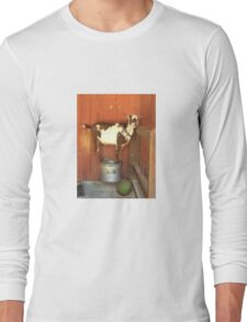 Goofy Goat Long Sleeve T-Shirt