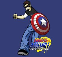 FanboysInc Assemble DW in Action Unisex T-Shirt