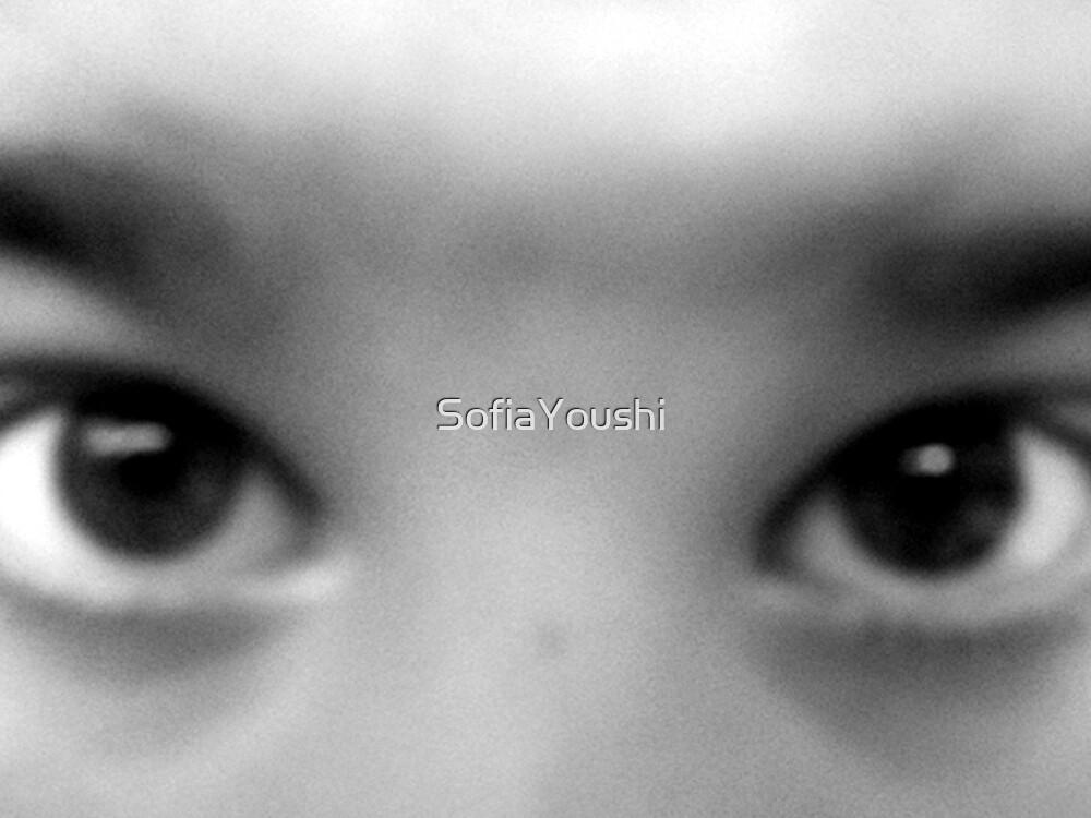 GIRLS EYES PORTRAIT by SofiaYoushi