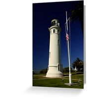 Pt. Vicente Lighthouse Greeting Card