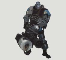 Team Fortress 2 - Heavy Robot w/ Minigun (BLU) [Vector] T-Shirt