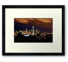 Seattle Framed Print