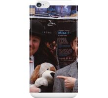 Neither One of them Can See Any Further Than the End of Their Nose iPhone Case/Skin