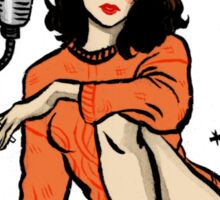 Donna Hayward Pin-up Sticker