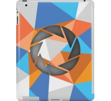 portal polygon iPad Case/Skin
