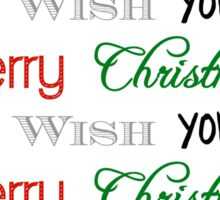 Merry Christmas | Happy New Year Sticker