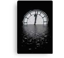 Time is ticking us by Canvas Print