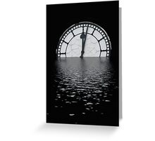Time is ticking us by Greeting Card