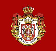 Serbia coat of arms by Jazyy