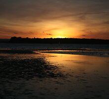 sunset I by dawid