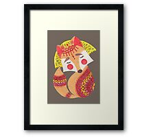 The Little Wolf Framed Print