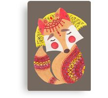 The Little Wolf Canvas Print