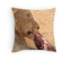 Dinner Time Throw Pillow