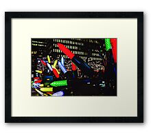 Plug in the Lights! Framed Print