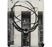 The weight of the world iPad Case/Skin
