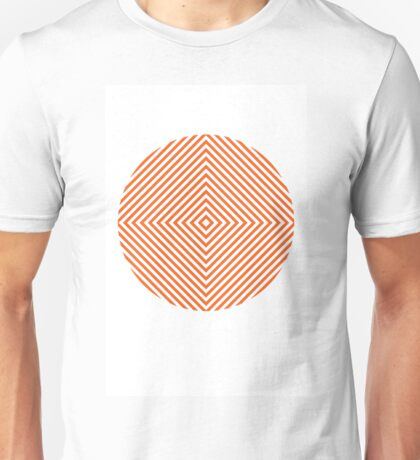Orange Diamond Unisex T-Shirt