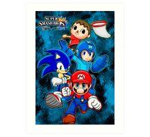 Super Smash Bros Art Print